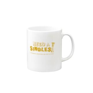 NEED A SINGLES Mugs