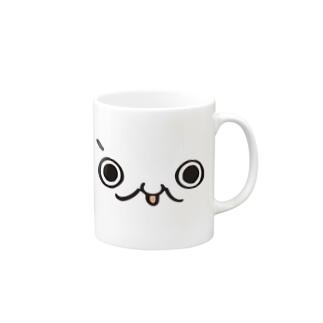 モチゾーフェイス Mugs
