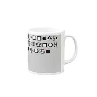 不思議なデザイン Mugs