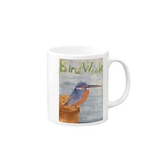 愛鳥週間 Mugs