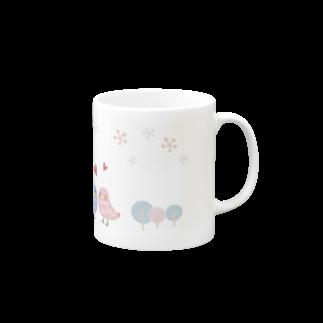 ひらりーー のことりシリーズマグカップ Mugs