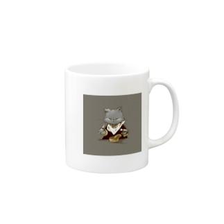 猫缶 Mugs