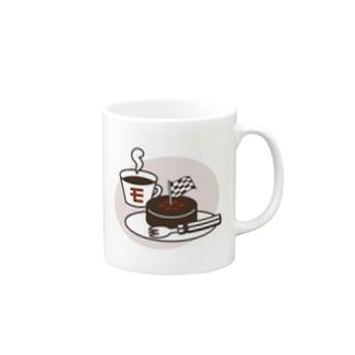 モタスポ部レンド&タイヤケーキ Mugs