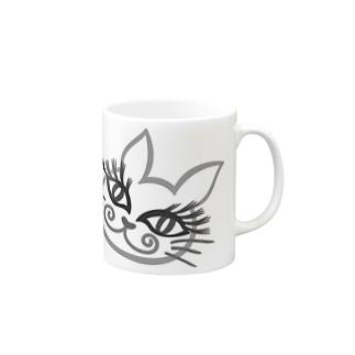 エロ猫顔 Mugs