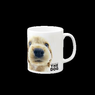 THE DOG and FriendsのTHE DOG[アメリカン・コッカー・スパニエル] マグカップ