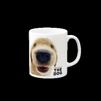 THE DOG and FriendsのTHE DOG[ゴールデン・レトリーバー] Mugs