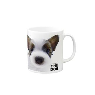 THE DOG[パピヨン]  Mugs