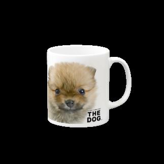 THE DOG and FriendsのTHE DOG[ポメラニアン] Mugs