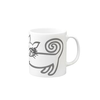 エロ猫 Mug