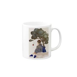 病葉(わくらば) Mugs