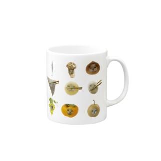 秋の味覚 Mugs