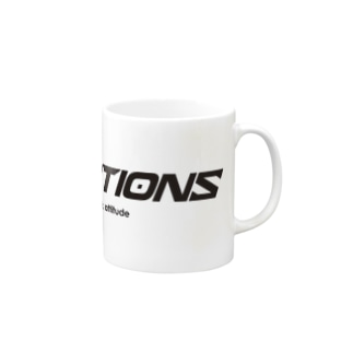 ROCK ACTIONS logo series 1 Mugs