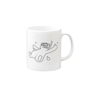 ぶくぶくしろくま マグカップ