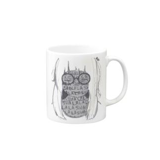 悲しみを貯める眼鏡 Mugs