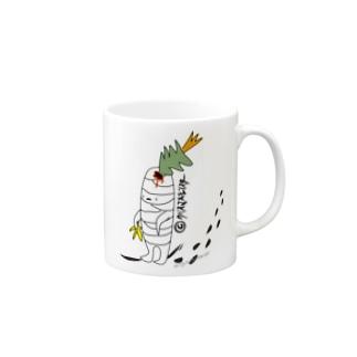 クリスマスモンスター Mugs