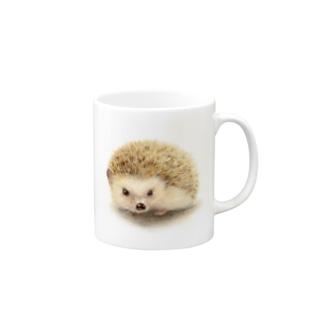 ハリネズミのすももちゃん Mugs