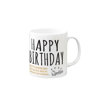 お誕生日おめでとうマグ Mugs