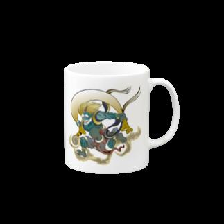 Drecome_DesignのFujin Raijin Mugs