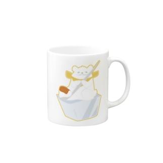 かき氷のシロクマ Mugs