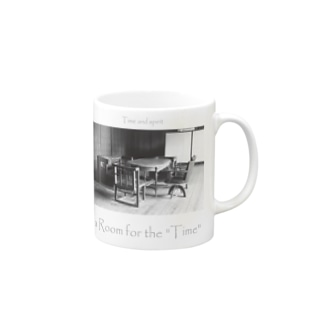 """a Room for the """"Time"""" ~ BW Mugs"""