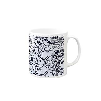 作品NO.3_pattern④ マグカップ