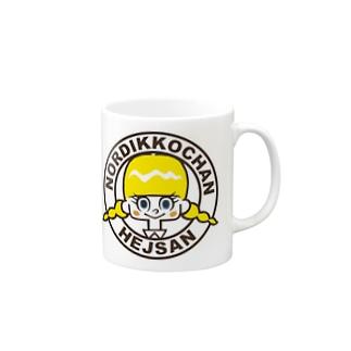 ノルディッコちゃん(ワッペン) Mugs
