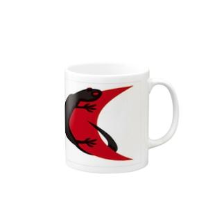 レッドムーン Black_Lizard Mugs