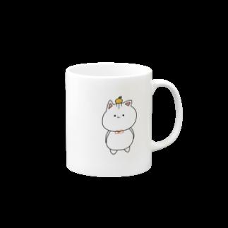 ( ΦωΦ )のお正月ぬこさん マグカップ
