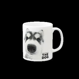 THE DOG and FriendsのTHE DOG[シベリアン・ハスキー] Mugs