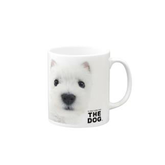 THE DOG[ウエスト・ハイランド・ホワイト・テリア] マグカップ