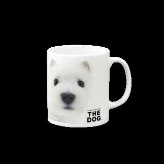 THE DOG and FriendsのTHE DOG[ウエスト・ハイランド・ホワイト・テリア] マグカップ