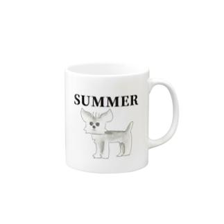 とあるわんこ・夏 マグカップ