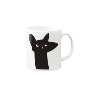 ラッキー猫 Mugs