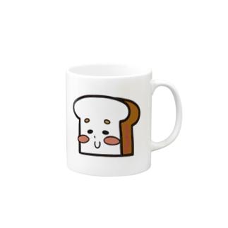 ぱんちゃ 食パンver. Mugs