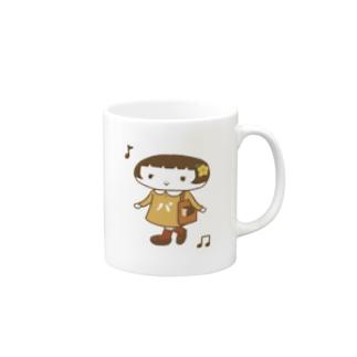 オカッパン Mugs