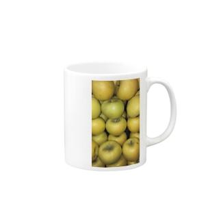 黄色リンゴ!梨じゃないよ!! Mugs