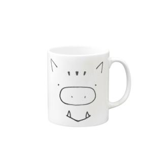 いのししさん Mugs