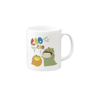 GAOGAO かみしともやし Mugs