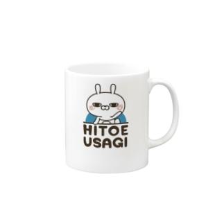 ひとえうさぎ Mugs