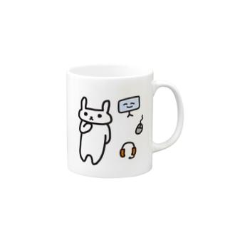 device_usagi Mugs