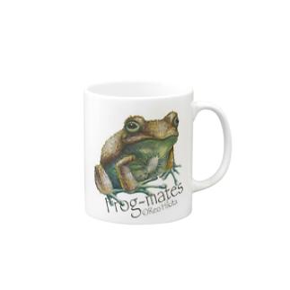 カエルメイト(Frog-mates)より「キウイガエル」 Mugs
