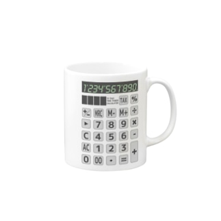電卓 Calculator Mugs