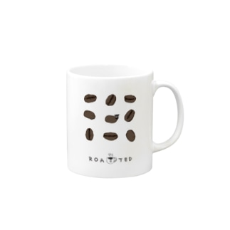 coffee baans (brown) Mugs