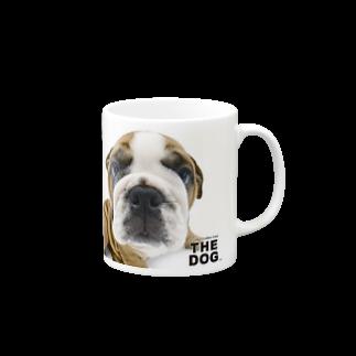 THE DOG and FriendsのTHE DOG[ブルドッグ] マグカップ