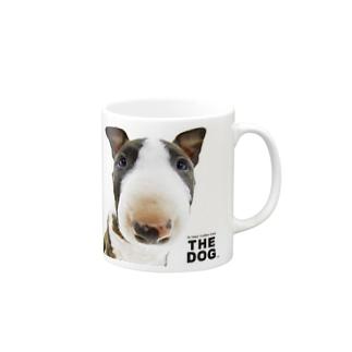 THE DOG[ブル・テリア] マグカップ