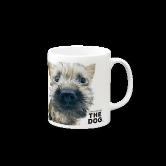 THE DOG and FriendsのTHE DOG[ケアーン・テリア] マグカップ