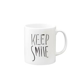 KEEP SMILE マグカップ
