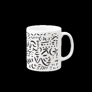 zekkyのsimon マグカップ