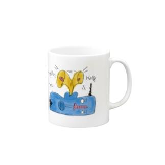 ハロー・イヤ・ハロー Mugs