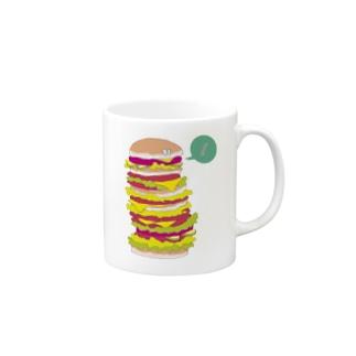 モノタベ!/ハンバーガーF Mugs